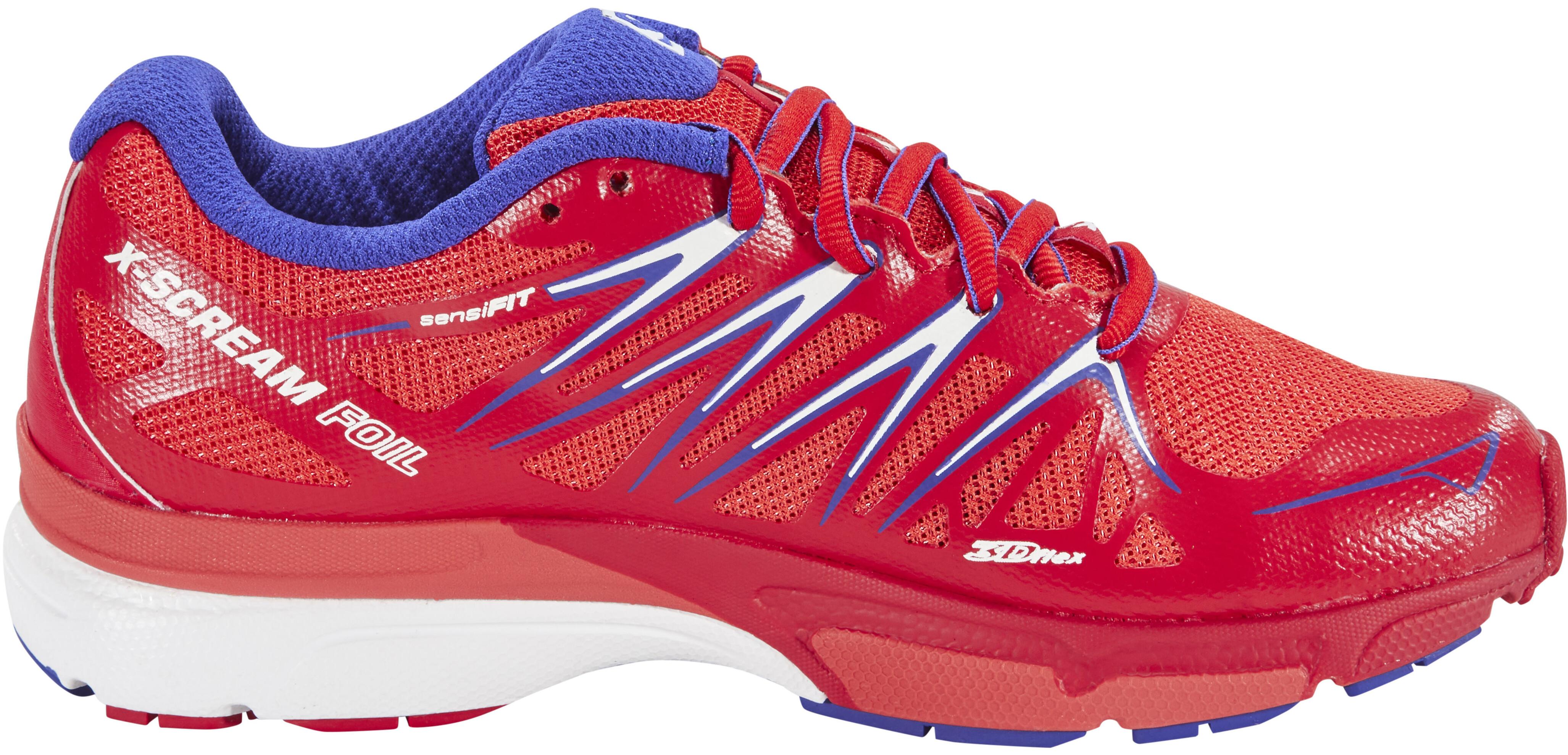 Salomon X-Scream Foil - Zapatillas running Mujer - rojo  d560343b42